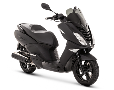 CITYSTAR 125 BLACK EDITION - CT125LCSYDN1 - Peugeot Motocycles