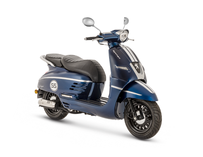 DJANGO 150 ABS BLUE - DJ150SYBS5 - Peugeot Motocycles