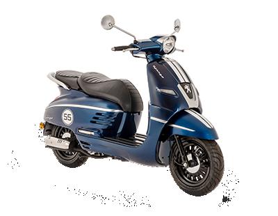 DJANGO 50 4T BLUE - DJ4TOYBS5 - Peugeot Motocycles
