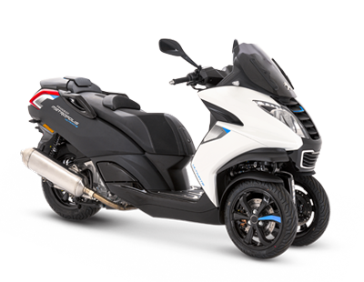 PEUGEOT METROPOLIS ULTIMATE SPORT - MET400SYUBL - Peugeot Motocycles